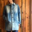 BLUE SAKURA - KNIT DENIM SHOP COAT