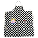 COOK MAN - Long Apron 「Checker」