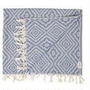 MAYDE - CLOVELLY TOWEL - BLUE