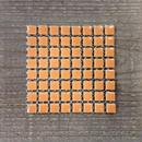 【タイル】マイクロサラ 12 オレンジ