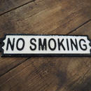 "ダルトン IRON SIGN  ""NO SMOKING"""