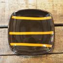 キャラメリゼ 正角プレート  ボーダー