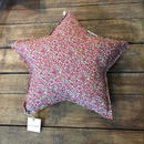 Numero74 クッション star cushion pattern (fall flowers-taype-pink)
