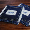 Denim coaster stitch / デニムコースター Made in JAPAN 送料無料