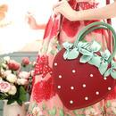 【ご予約】宝石苺2wayバッグ(2色)