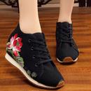 中華靴スニーカー【蓮の花】