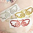天使の羽根メタルステッカー