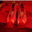 タッセル付き中華靴