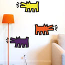 BLIK  Keith Haring  Barking Dog アソートWall  Sticker