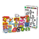 Vilac Set of 18 Keith Haring Stacking Figures 積み木