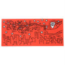 Keith Haring Red Santa Notecards  キース・ヘリング クリスマス カード