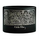 Keith Haring Vase (Black/Heller Garden)