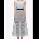 【2色】Flower Lace  Midi Cami Dress  (ミモレ丈 フラワーレースキャミワンピ)