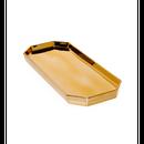 Gold Tone Finish Deco Plate Big (ゴールドトーンデコプレート 大)