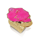 期間限定【SALE!!】¥23,900→18K Pink Jasper Stone Ring (18金加工 ピンクジャスパーストーンリング)