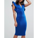 Ruffle Bodycon Dress (ラッフルボディコンワンピ)