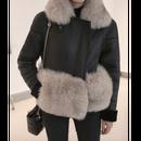 【代引き不可】Fox Fur Mouton Motoer Jacket (フォックスファー付きムートンジャケット)