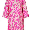 Silk Animal Tunic Dress (レオパードチュニックワンピ)/STEFFERN SCHERAUT