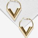 Gold Hoop Earrings (ゴールドフープピアス)