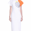 Digital Printed Glitter Dress (デジタルプリントワンピ)