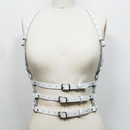 "White Leather Harness Belt  ""Valentina"" (ホワイトレザーハーネス ベルト ""ヴァレンティーナ"")"