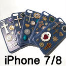 iPhone case 7/8 size 〈Navy〉