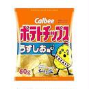 カルビー ポテトチップス うすしお味 60g(81円)