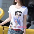 即納  キラキラビジューベティちゃんTシャツ