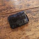 【THE SUPERIOR LABOR 】crocodile zip small wallet(クロコダイルジップスモールウォレット)