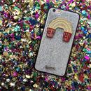 Rainbow popcorn Mikiwuu オリジナル iPhoneケース(iPhone7 PLUS)