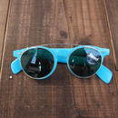 Dead stock  Made in France Clip on 2way Sunglasses(Blue)