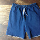 """CUT OFF"" INDIGO DYE SHORTS"