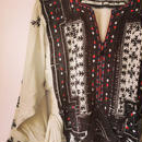 off white baloch dress