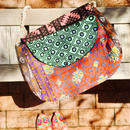 パキスタン・ラジャスタンmix刺繍 バッグ