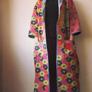 【厚地】カンタ刺繍 VINTAGE KANTHA KIMONO JACKET-b