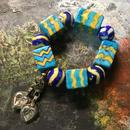 Blue pottery neelacaravan オリジナルブレスレット