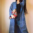 🅰️ block print kimono long shirt