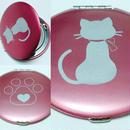 ねこンパクト リボン猫(寄付代込)  3色あり