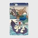 スマホケース iPhone6/6s 「一富士二鷹三茄子」