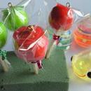 りんごアメ 青りんご ミニ・キーホルダーとストラップ