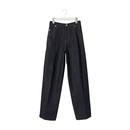 "No.0343 WIDE DENIM SLACKS ""RIGID"""