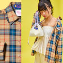 19S Check shirt (Beige)