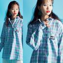 Mint Check Shirt