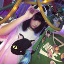 黒猫BIGTシャツ/JUNGLE BUS