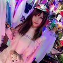ときめきに死ねフリルフードパーカー/魔法都市東京