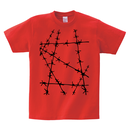 Tシャツ:有刺鉄線