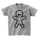 Tシャツ:グロカワ01(グレー)