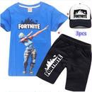フォートナイト fortnite 子供服   Tシャツ+パンツ+キャップのセット  ユニセックス カジュアル  4