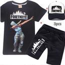 フォートナイト fortnite 子供服   Tシャツ+パンツ+キャップのセット  ユニセックス カジュアル  1