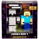 マインクラフト Minecraft マテル Mattel Toys フィギュア おもちゃ Survival Mode Iron Armor Steve Action Figure